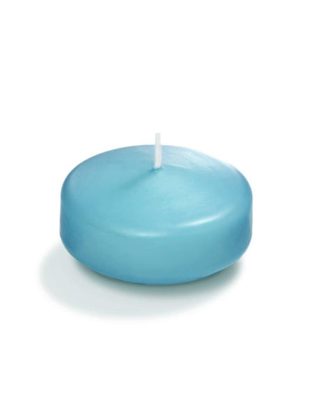 "3"" Floating Candles Caribbean Blue"