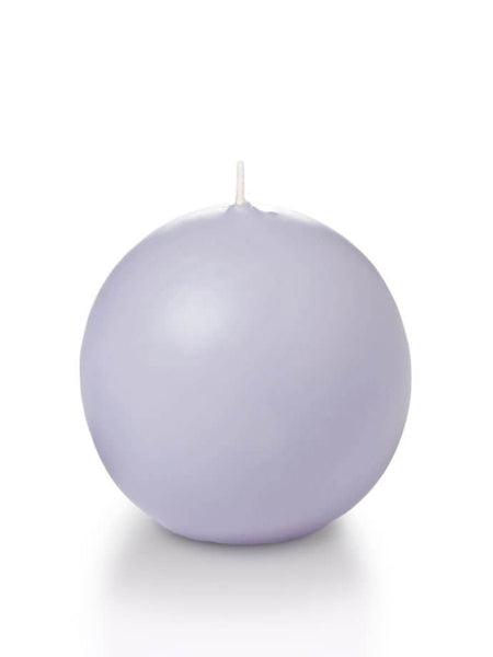 "2.8"" Sphere / Ball Candles Lilac"