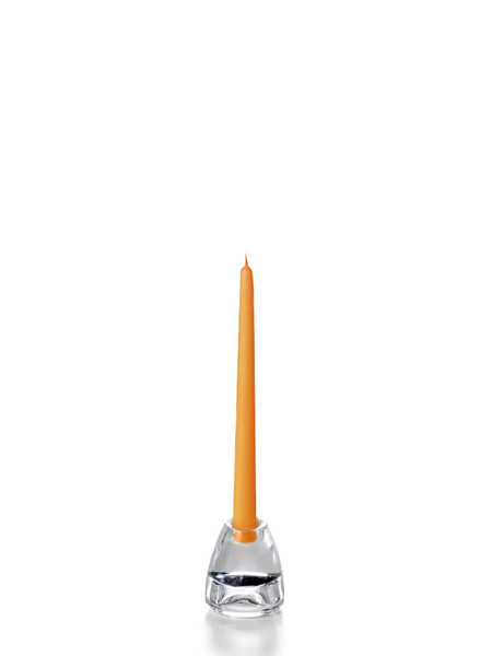 "10"" Handcrafted Taper Candles Harvest Gold"