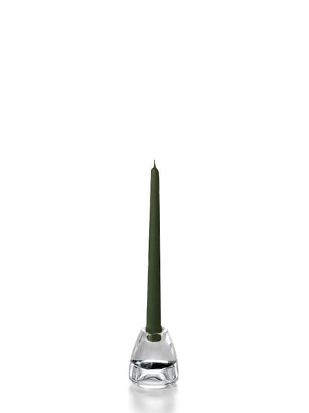 "10"" Handcrafted Taper Candles Olive"