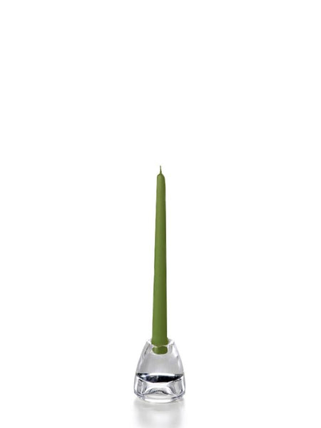 "10"" Handcrafted Taper Candles Green Tea"
