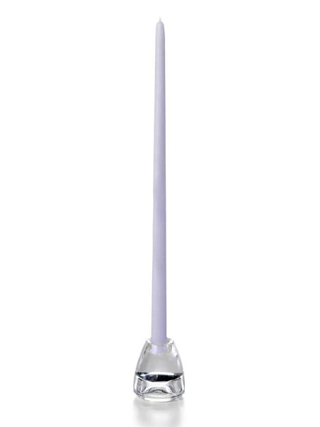 "18"" Handcrafted Taper Candles Lilac"