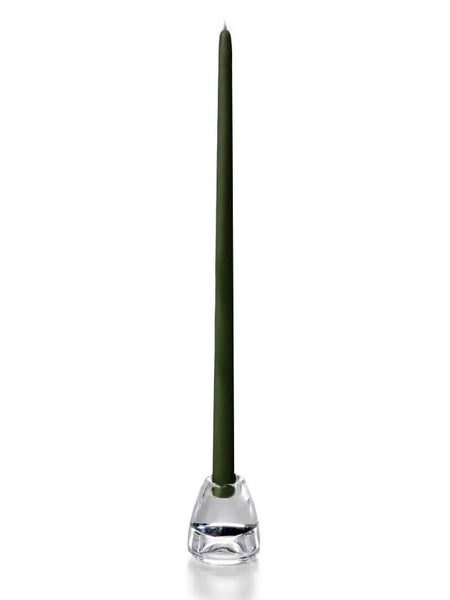 "18"" Handcrafted Taper Candles Olive"