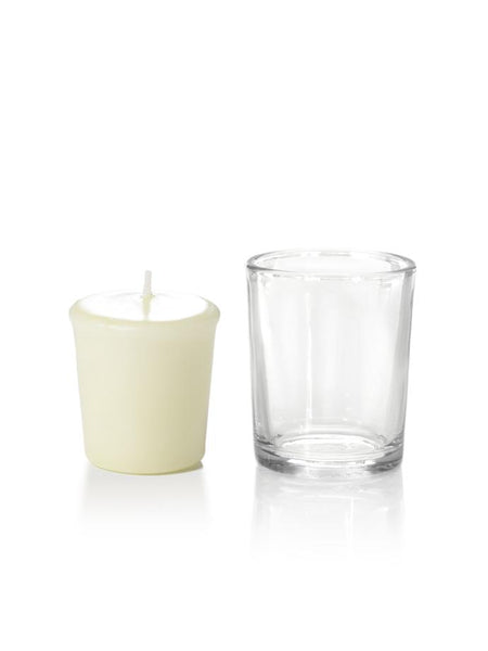 15 Hour Votive Candles & Votive Holders Ivory