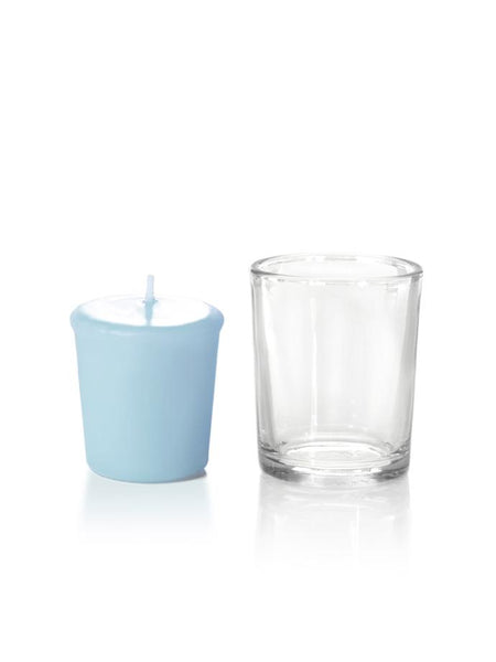 15 Hour Votive Candles & Votive Holders Ice Blue