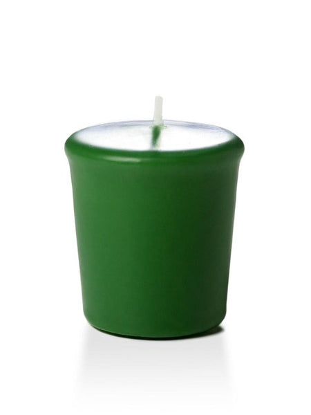15 Hour Unscented Votive Candles Hunter Green