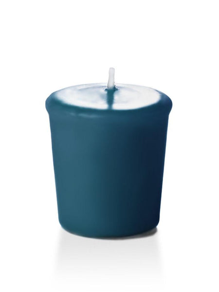 15 Hour Unscented Votive Candles Sapphire