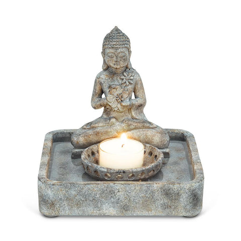 Buddha Tray Tealight Holder