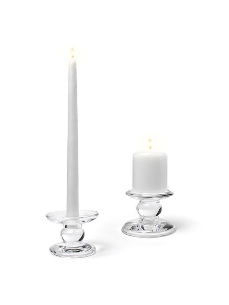 "3.5""D x 3""H - Dual Reversible Taper/Pillar Candle Holder"