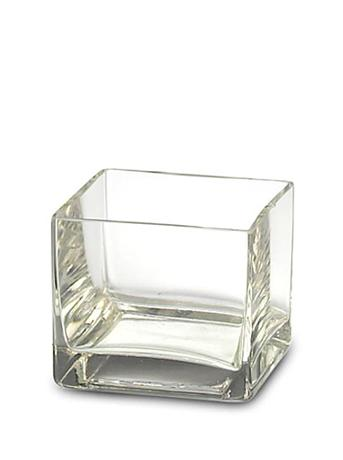 Small Deco Cube Candle Holder