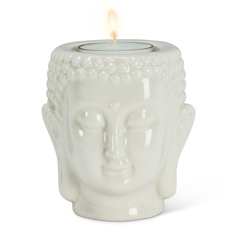 Buddha Head Tealite Holder