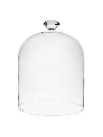 Large Gem Top Dome Cloche