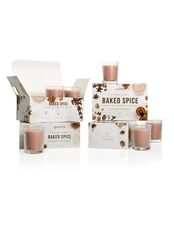 Baked Spice Bulk Scented Votive Candles