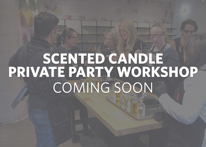 Scented Candle Private Party Workshop Coming Soon