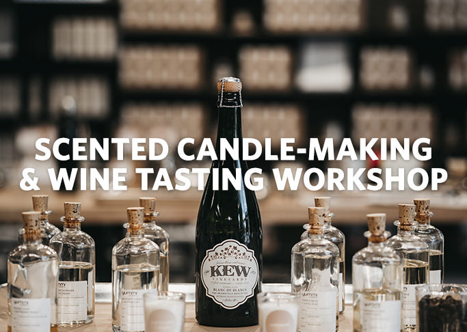 Private Party: Scented Candle-Making and Wine Tasting Workshop