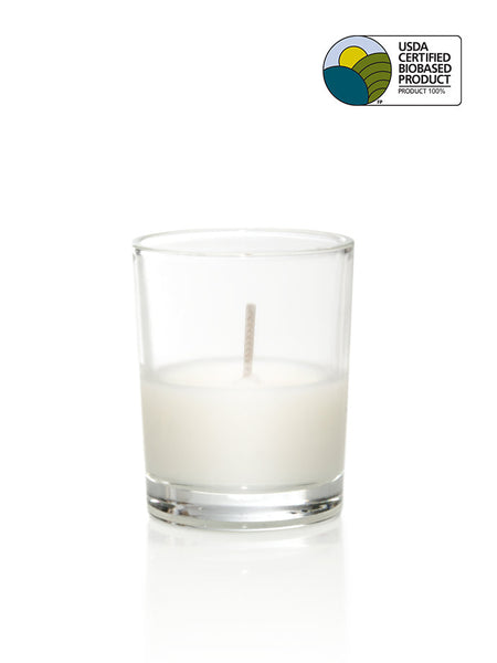8 Hour Unscented Bio-Light Jar Candles