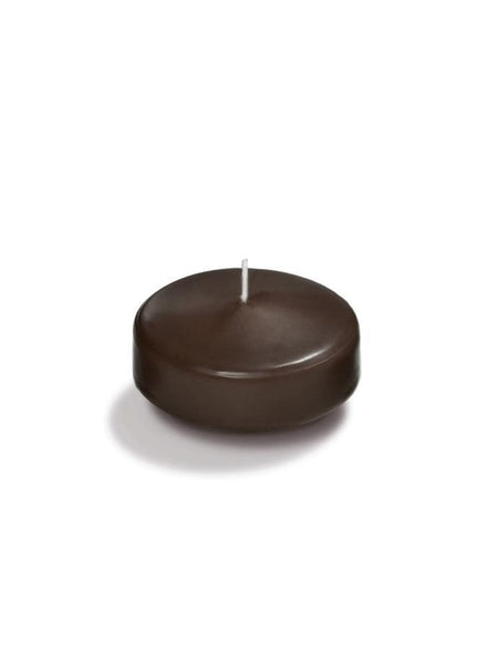 "2.25"" Floating Candles Chocolate"