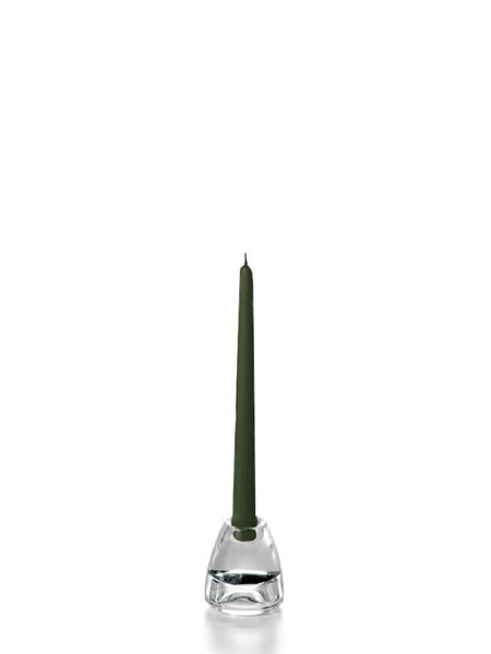 "10"" Wholesale Taper Candles - Case of 144 Olive"