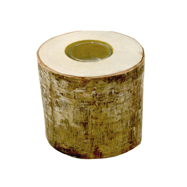 BIRCH CANDLE HOLDER 10 CM