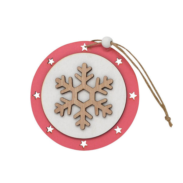 ORNAMENT SNOWFLAKE