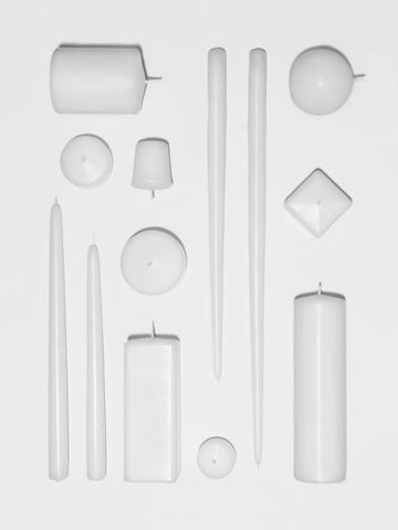 White + Ivory Candles