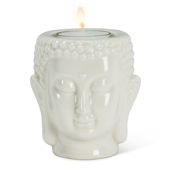 Buddha Head Tealight Holder