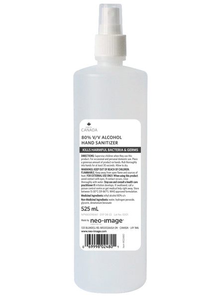 Bulk Hand Sanitizer (Liquid) - 525ml