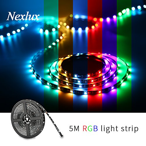 Led strip light nexlux 164ft waterproof ip65 5050 smd rgb led led strip light nexlux 164ft waterproof ip65 5050 smd rgb led color changing decoration aloadofball Image collections