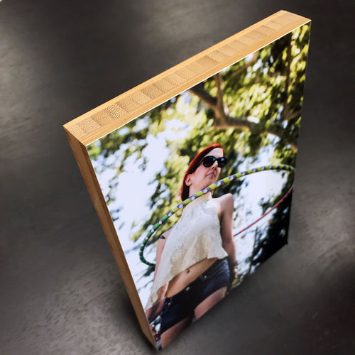 Bamboo Photo Blocks
