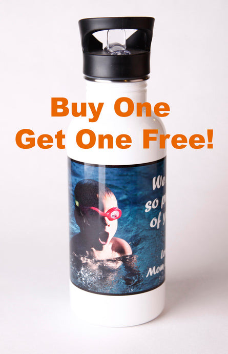 Water Bottles - Buy One Get One Free!