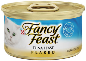 Fancy Feast Flaked Tuna Canned Cat Food