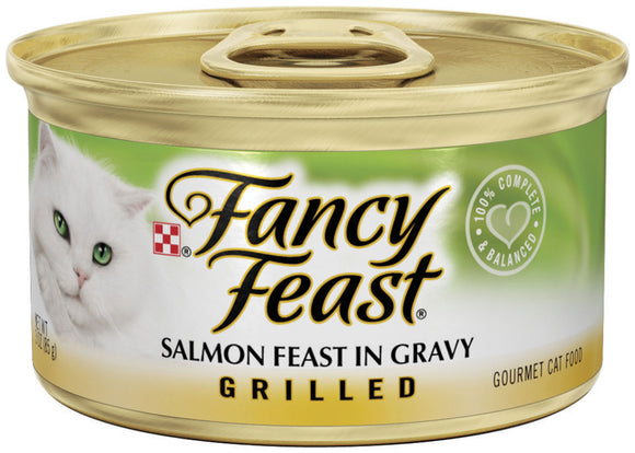 Fancy Feast Grilled Salmon Canned Cat Food