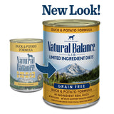 Natural Balance L.I.D. Limited Ingredient Diets Duck and Potato Canned Dog Food