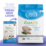 PureVita Grain-Free Chicken & Peas Entree Dry Cat Food
