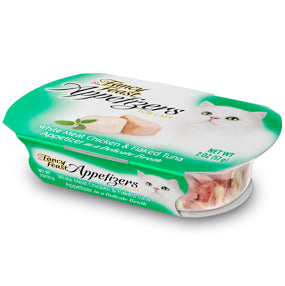 Fancy Feast Purely Natural White Meat Chicken and Flaked Tuna Entree Cat Food Tray