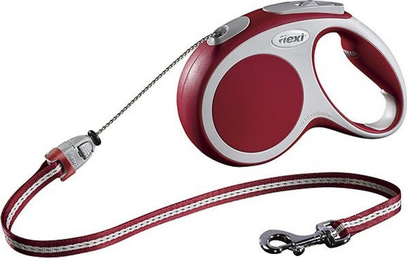 Flexi Vario Red Retractable Cord Dog Leash