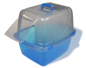 Van Ness Translucent Enclosed Cat Litter Pan