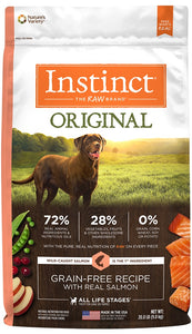 Instinct Original Grain Free Recipe with Real Salmon Natural Dry Dog Food