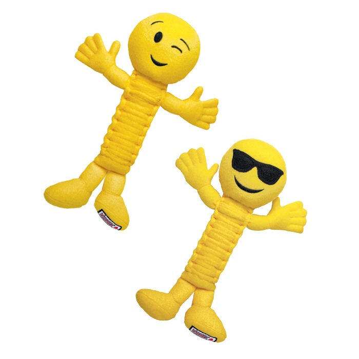 KONG Bendeez Emoji Grooveez Dog Toy
