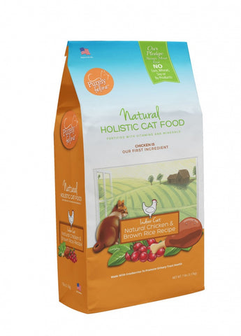 Purely Feline Chicken & Brown Recipe Dry Cat Food