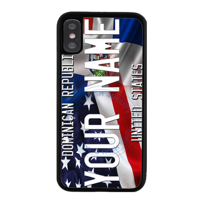 Personalize Your Own Mixed USA Flag Phone Case — BR Gift Shop