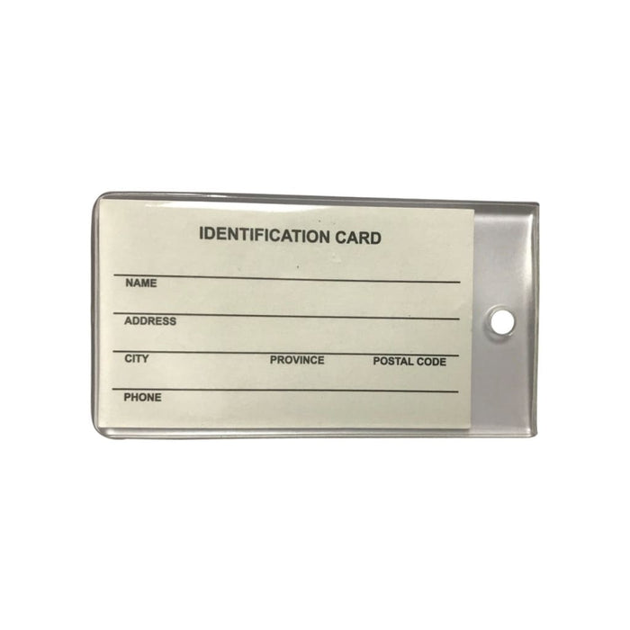 BRGiftShop Personalize Your Own Wisconsin State License Plate Luggage Tag with Address Card Holder
