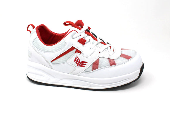 MT. Emey MTN16 Red - Kids Extra Depth  Athletic Walking Shoes with Laces