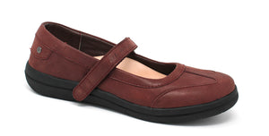 Mt. Emey 9320 Burgundy - Women's Extreme-Light Mary Jane Shoes