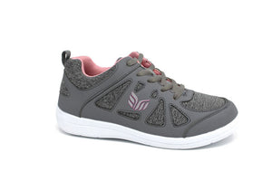 Mt. Emey 9321 Gray - Lady's Added-Depth Extreme-Light   Walking Shoes