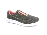 Mt. Emey 9327 Gray - Lady's Added-Depth Extreme-Light Knitted Walking Shoes