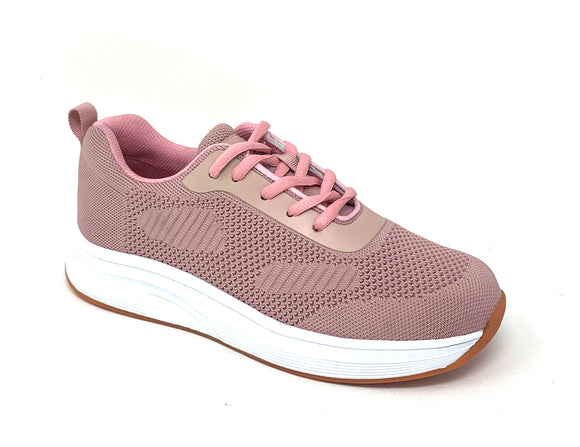 FITec 9329 Pink - Lady's Added-Depth Extreme-Light Knitted Walking Shoe