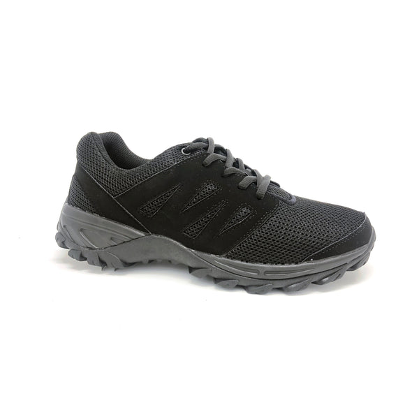 Mt. Emey 9704  Black - Men's Added-depth Walking Shoes