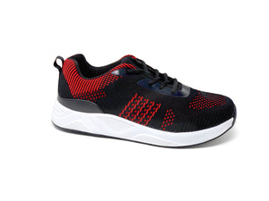 FITec 9712 Red - Men's Knitted Walking Comfort Shoe