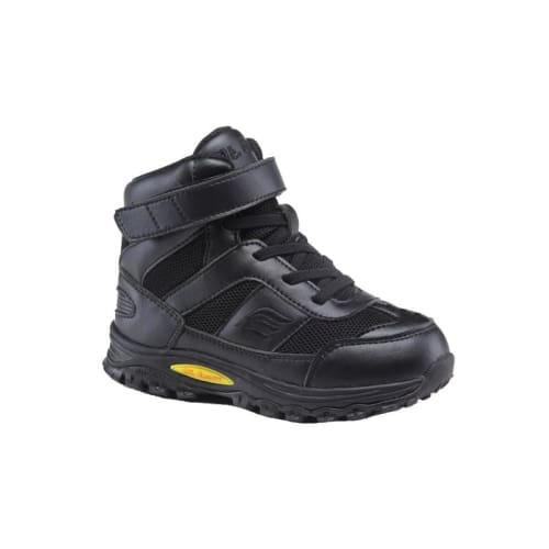 Mt. Emey 3305-1H Black - Children Straight Last Athletic Boots With Elastic Laces - Shoes